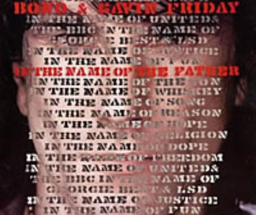 """Bono In The Name Of The Father CD single (CD5 / 5"""") UK BNOC5IN37108"""