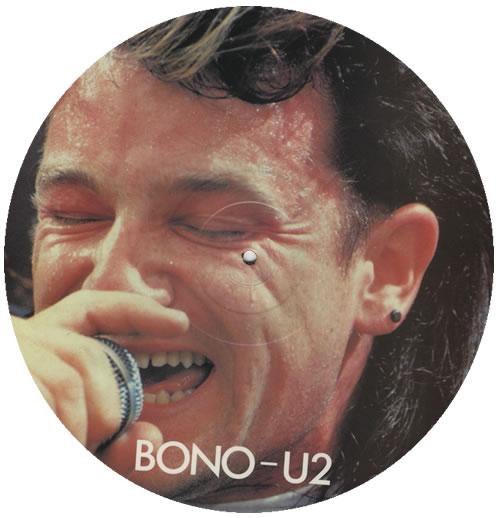 Bono Interview Disc picture disc LP (vinyl picture disc album) UK BNOPDIN204466