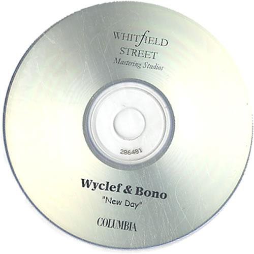 Bono New Day - Hip Hop Clean & Pop Main CD-R acetate UK BNOCRNE144454