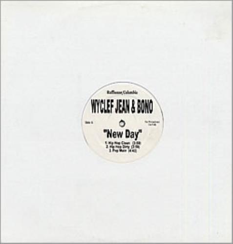 "Bono New Day 12"" vinyl single (12 inch record / Maxi-single) US BNO12NE149491"