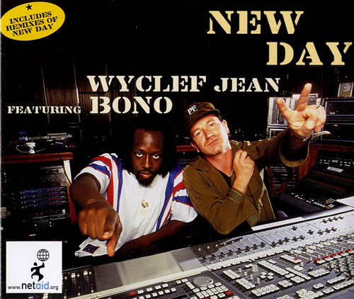 Bono New Day 2-CD single set (Double CD single) UK BNO2SNE167652