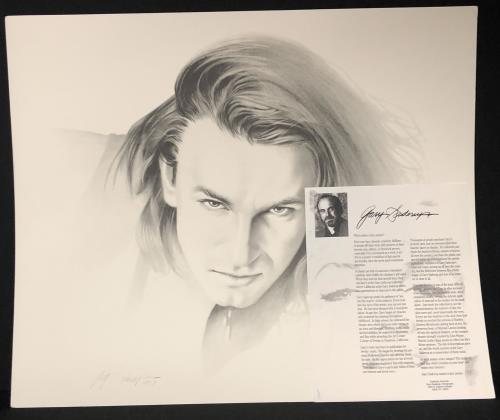 Bono Portrait - by Gary Saderup memorabilia US BNOMMPO732120