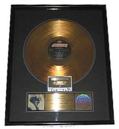 Bon Jovi 7800* Fahrenheit - Gold award award disc US BONAWFA139769