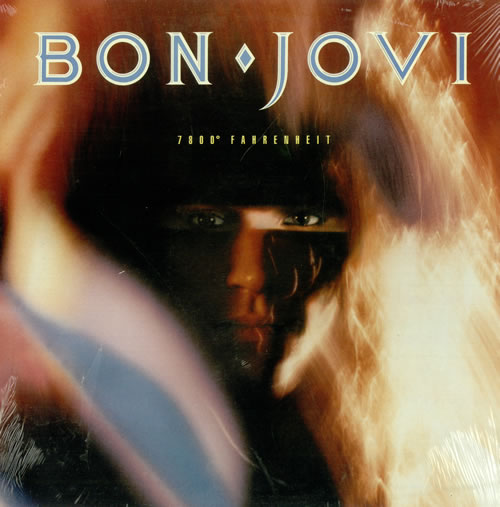Bon Jovi 7800° Fahrenheit - sealed vinyl LP album (LP record) Canadian BONLPFA495018