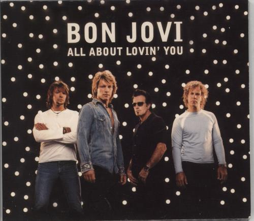 "Bon Jovi All About Lovin' You CD single (CD5 / 5"") UK BONC5AL242724"