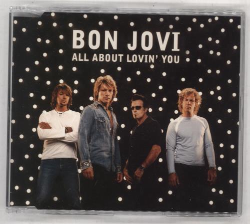 "Bon Jovi All About Lovin' You CD single (CD5 / 5"") Australian BONC5AL254855"