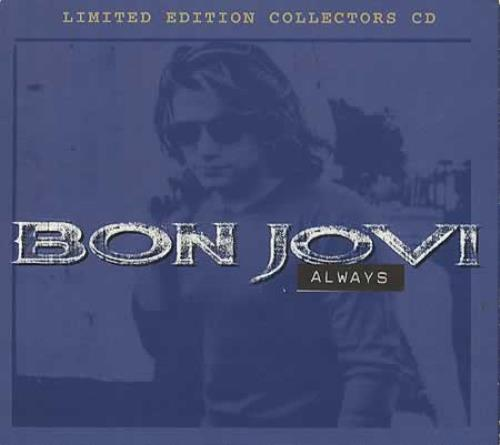 """Bon Jovi Always - Collectors Edition CD single (CD5 / 5"""") UK BONC5AL33444"""
