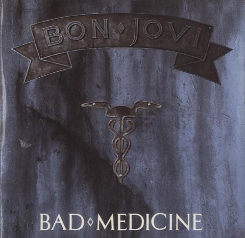 "Bon Jovi Bad Medicine CD single (CD5 / 5"") UK BONC5BA18218"