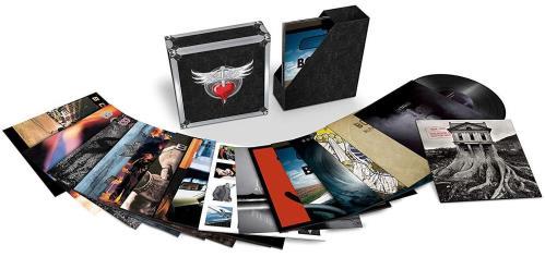 Bon Jovi Bon Jovi: The Albums Vinyl Box Set UK BONVXBO734000