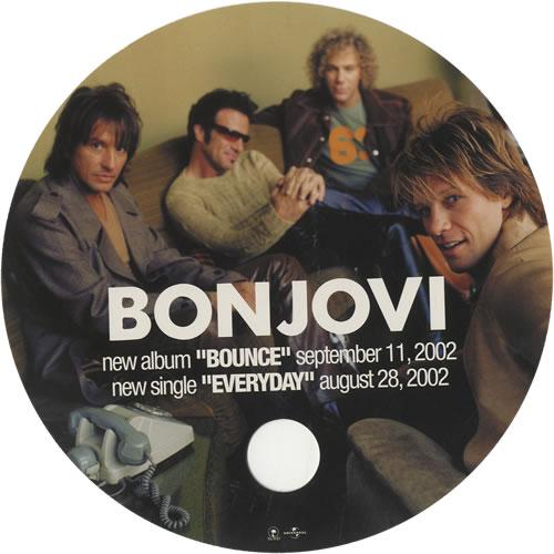 Bon Jovi Bounce / Everyday - Door Hanger memorabilia Japanese BONMMBO449407