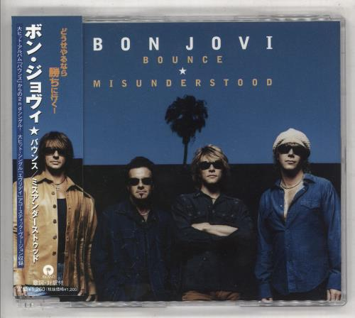 "Bon Jovi Bounce CD single (CD5 / 5"") Japanese BONC5BO224346"