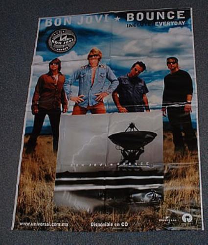Bon Jovi Bounce display Mexican BONDIBO238247