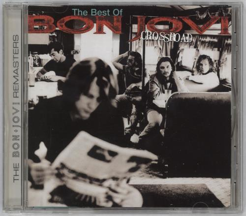 Bon Jovi Crossroad: The Best Of CD album (CDLP) German BONCDCR711372