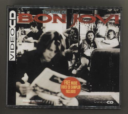 Bon Jovi Crossroad Video CD German BONVDCR179510