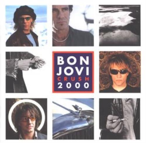 Bon Jovi Crush 2000 Tour Programme tour programme UK BONTRCR349455
