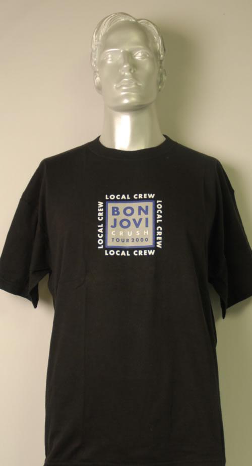 Bon Jovi Crush Tour 2000 t-shirt UK BONTSCR613775
