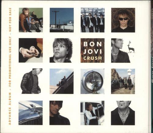 Bon Jovi Crush CD album (CDLP) UK BONCDCR156942