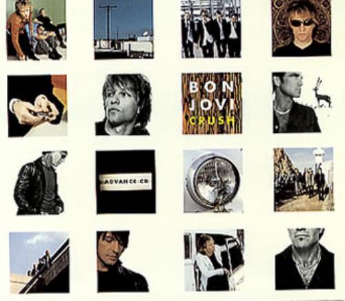 Bon Jovi Crush CD album (CDLP) US BONCDCR157722