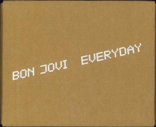Bon Jovi Everyday box set UK BONBXEV224878