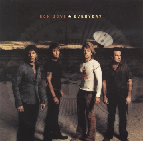 "Bon Jovi Everyday CD single (CD5 / 5"") German BONC5EV224997"