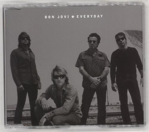 "Bon Jovi Everyday CD single (CD5 / 5"") Australian BONC5EV230802"