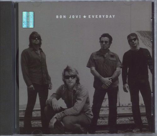 Bon Jovi Everyday 2-CD single set (Double CD single) Mexican BON2SEV241737