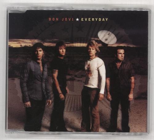 "Bon Jovi Everyday CD single (CD5 / 5"") Australian BONC5EV253808"
