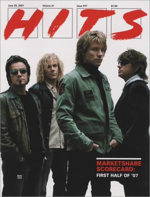 Bon Jovi Hits magazine US BONMAHI434785