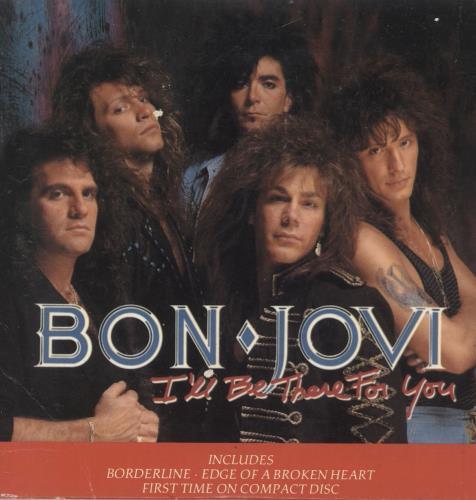 """Bon Jovi I'll Be There For You CD single (CD5 / 5"""") UK BONC5IL289642"""