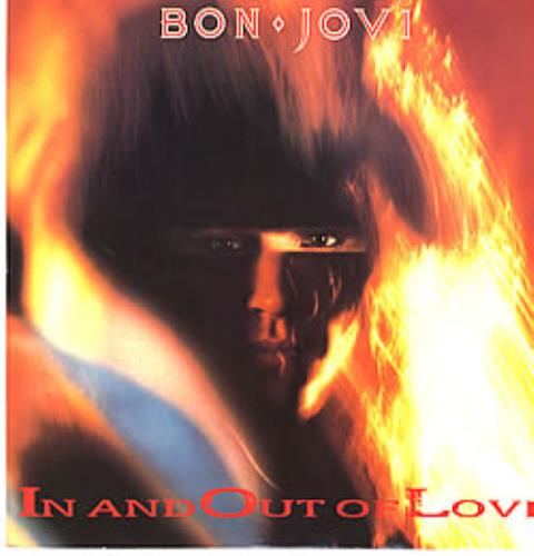 "Bon Jovi In And Out Of Love 12"" vinyl single (12 inch record / Maxi-single) UK BON12IN00503"