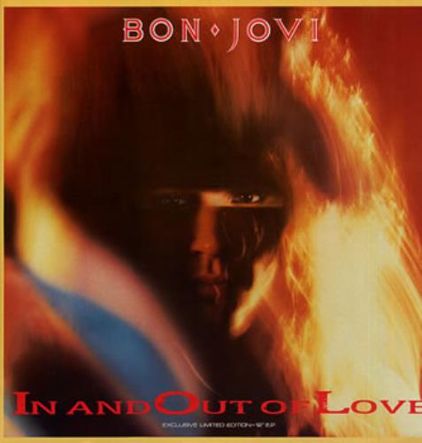 "Bon Jovi In And Out Of Love 12"" vinyl single (12 inch record / Maxi-single) Canadian BON12IN00504"