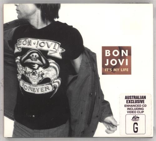 "Bon Jovi It's My Life CD single (CD5 / 5"") Australian BONC5IT155778"