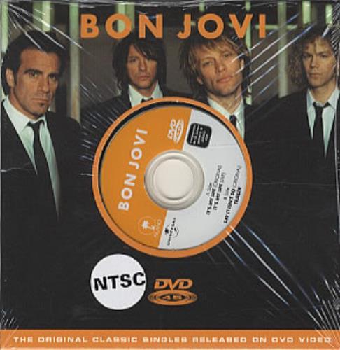 Bon Jovi It's My Life DVD Single Swedish BONDSIT323625