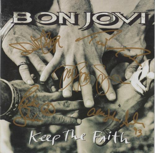 Bon Jovi Keep The Faith - Gold Tour Edition CD album (CDLP) Australian BONCDKE23458