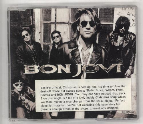 "Bon Jovi Keep The Faith - Promo Stickered CD single (CD5 / 5"") UK BONC5KE738427"