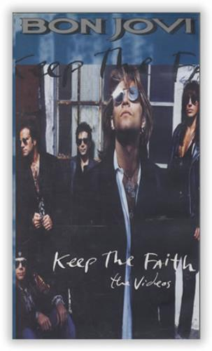 Bon Jovi Keep The Faith - The Videos video (VHS or PAL or NTSC) German BONVIKE161403