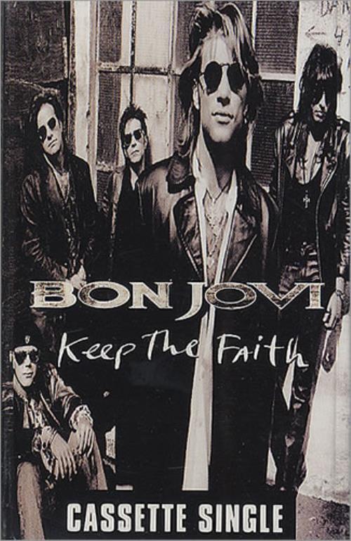 Bon Jovi 'Keep The Faith' Cassette Singles cassette single UK BONCSKE306232