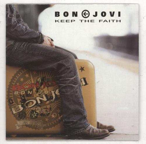 """Bon Jovi Keep The Faith CD single (CD5 / 5"""") Spanish BONC5KE267028"""