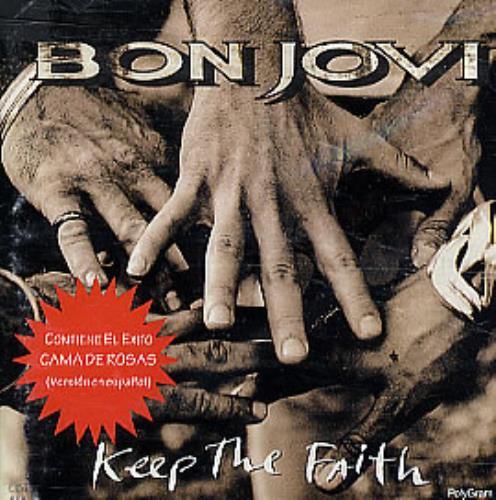 Bon Jovi Keep The Faith CD album (CDLP) Mexican BONCDKE95517