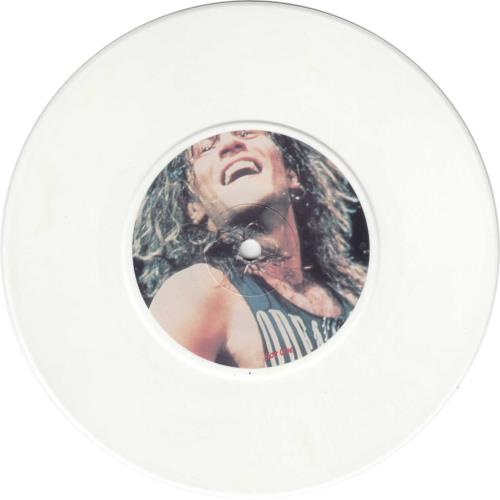 "Bon Jovi Lay Your Hands On Me - Red/Blue/White pack / EX 7"" vinyl single (7 inch record) UK BON07LA599933"