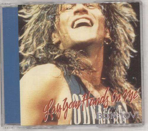 "Bon Jovi Lay Your Hands On Me CD single (CD5 / 5"") Japanese BONC5LA738249"