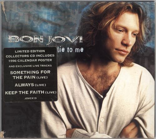Bon Jovi Lie To Me - EX 2-CD single set (Double CD single) UK BON2SLI712391