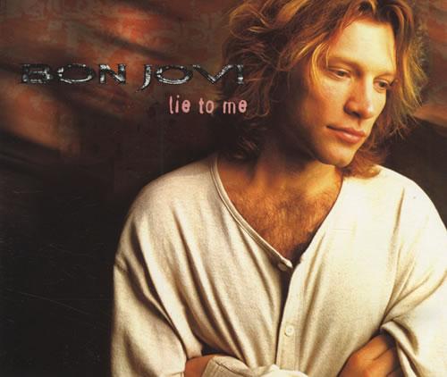 """Bon Jovi Lie To Me CD single (CD5 / 5"""") Canadian BONC5LI432680"""