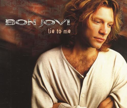 """Bon Jovi Lie To Me CD single (CD5 / 5"""") UK BONC5LI54779"""