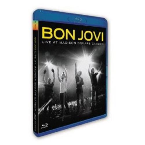 Bon Jovi Live At Madison Square Gardens Blu Ray DVD UK BONBRLI490027