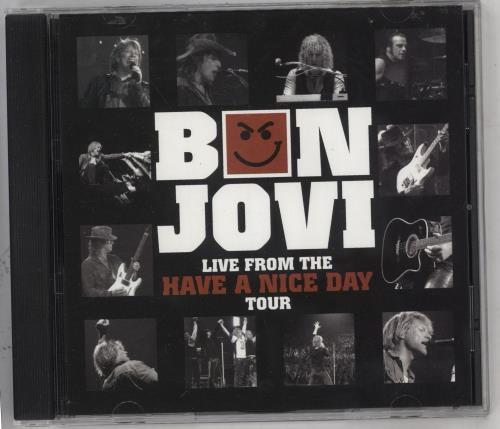 Bon Jovi Live From The Have A Nice Day Tour CD album (CDLP) US BONCDLI738426