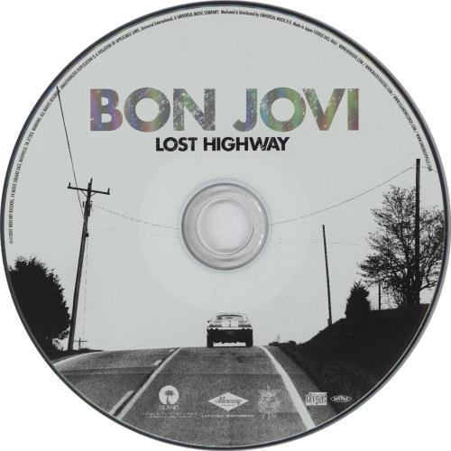 Bon Jovi Lost Highway Tour Edition 2-disc CD/DVD set Japanese BON2DLO738227