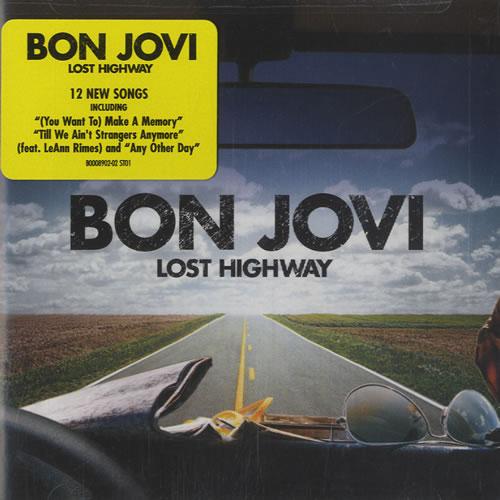 Bon Jovi Lost Highway CD album (CDLP) US BONCDLO463980