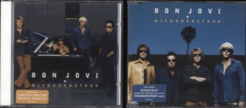 Bon Jovi Misunderstood 2-CD single set (Double CD single) UK BON2SMI228100
