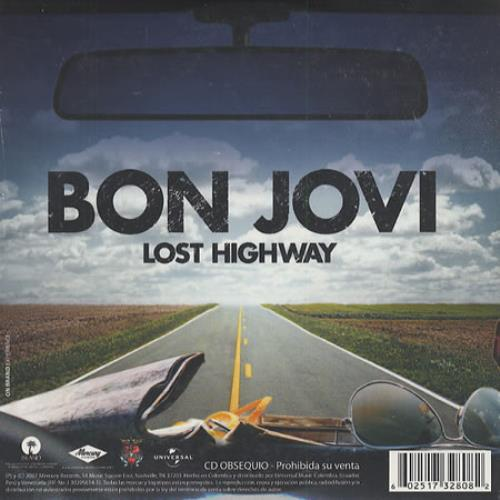 Bon Jovi Musica De Buchanan's Forever - Lost Highway CD album (CDLP) Colombian BONCDMU412162